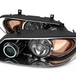 אאודי A1 פנס ראשי שמאל חשמלי + מנוע+ לדים + קסנון (2011-2014)